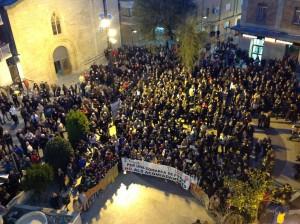 Concentració 1000 persones Flix 21-2-2013