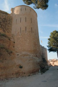 Foto castell móra d'Ebre torre