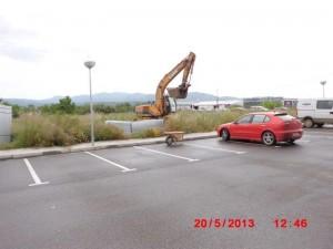 Nou parking costat MERCADONA 22-5