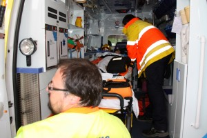 Simulacre incendi Hospital Comarcal Móra d'Ebre 14-5-2013