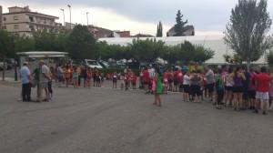 Sortida cursa Tivissa festes 28-7-2013