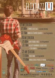 cartell flix jazz 2013