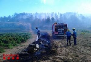 Incendi Batea 2-10-2013