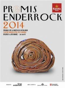 Cartell premis Enderrock 2014