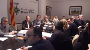 Reunió Comissió Urbanisme TTEE Móra d'Ebre 4-2-14