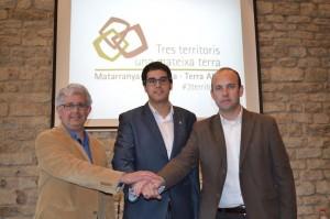 Tres territoris una mateixa terra polítics març 2014