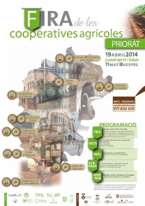 CARTELL 2a Fira Cooperatives Priorat abril 2014