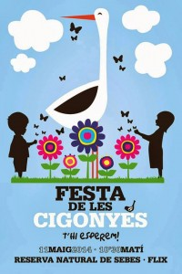 CARTELL FESTA CIGONYES SEBES maig2014