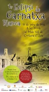 CARTELL ECLIPSI GARNATXA BLANCA 28-6-14