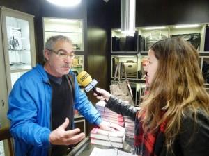 entrevistant Andreu Carranza a Bassa