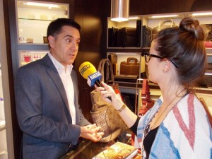 entrevistant Martí Gironell Bassa