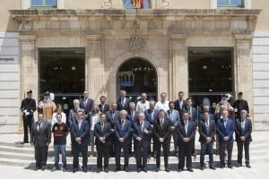 Tarragona (TarragonŽs) 29.06.2015.  -. Constitucio Dipta 2015-2019   Foto: Tjerk van der Meulen Diputaci— de Tarragona