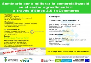 Seminaris desenvolupament sector agroalimentari eines 2.0 Ribera d'Ebre abril 2013