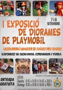 CARTELL EXPO PLAYMOBIL MÓRA LA NOVA 7-9-2013