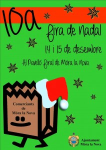 CARTELL 10 fira de Nadal de Móra la Nova 14i15-12-2013