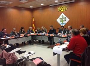 Ple Ajuntament Móra d'Ebre 19-12-2013