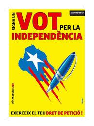 CARTELL Signa un vot per la independència gener 2014