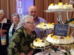 Cent anys Teresa Serres 24-4-14