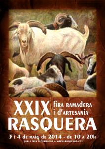 cartell FIRA Rasquera 2014
