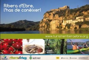 Turisme Ribera d'Ebre 5 eixos juliol 2014