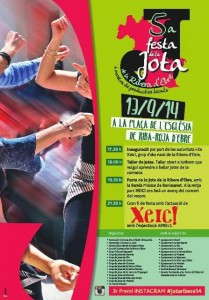 Cartell 5a Festa de la Jota 2014
