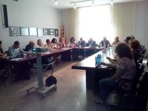 Reunió Aregió Consell Assessor 7 comarques Terra Alta 15-9-14
