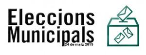 ELECCIONS MUNICIPALS 15 LOGO