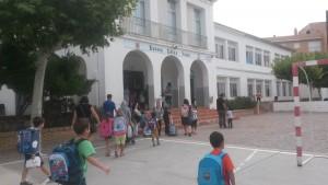 2015_09_14 entrada escola Mora Ebre