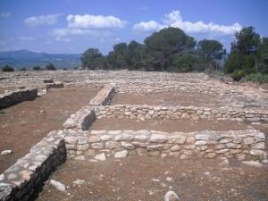 El poblat ibèric del castellet de Banyoles, a Tivissa.