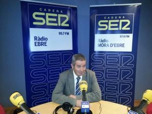 ENTREVISTA XAVIER PALLARES 27-11-15 SER EBRE I RADIO MÓRA