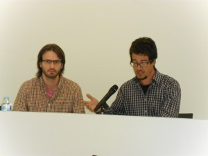 Josep_Sancho (esq) i Gerard Mercadé