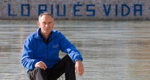 Manolo Tomás, portavoz de la Plataforma en defensa del Ebro.